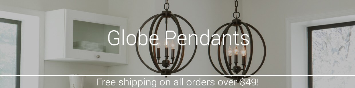 Globe pendant lights lightsonline its easy to see how globe pendants get their name its all in their circular shape while globe pendants tend to be more contemporary in style aloadofball Image collections