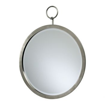 """Cyan Design Mirrors 23.75"""" Round Hanging Mirror in Polished Chrome"""