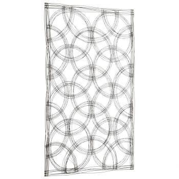 "Cyan Design Kaleidoscope 67"" Wall Decor in Graphite"