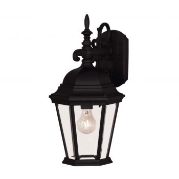 "Savoy House Exterior Collections 18"" 1-Light Wall Lantern in Black"
