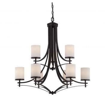 Savoy House Colton 9-Light Chandelier in English Bronze