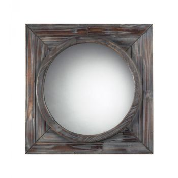 Sterling Industries Reclaimed Wood Finish Wall Mirror
