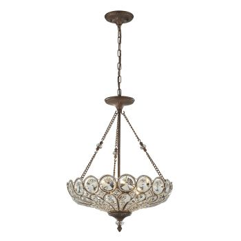 Elk Christina 5-Light Pendant In Mocha