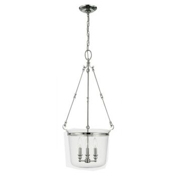 Hudson Valley Quinton Pendant in Polished Nickel