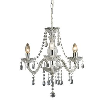 Sterling Industries Theatre 3-Light Mini Chandelier