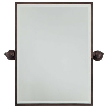 Minka Lavery 1440-267 Rectangle Mirror in Bronze