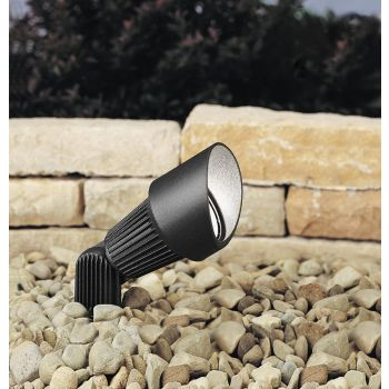 Kichler Landscape 12V Accent in Textured Black