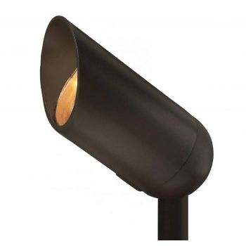 "Hinkley Landscape 3.25"" 3W LED Flood Accent in Bronze"
