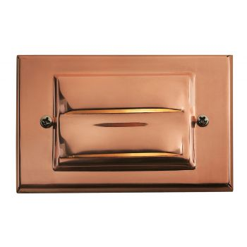 "Hinkley Signature 3"" LED Deck & Step Light in Copper Finish"