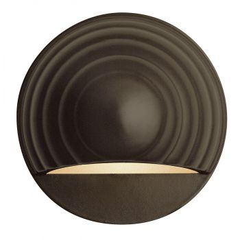 "Hinkley Signature 3.75"" Deck & Step Light in Bronze Finish"