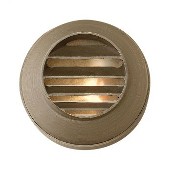 "Hinkley Hardy Island 2"" Deck & Step Light in Matte Bronze Finish"