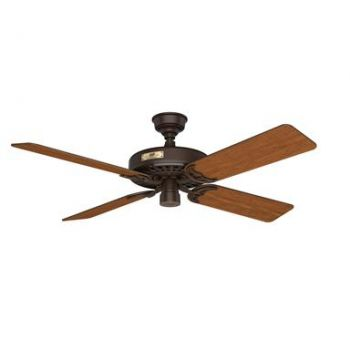 "Hunter Original 52"" Outdoor Ceiling Fan in Chestnut Brown"