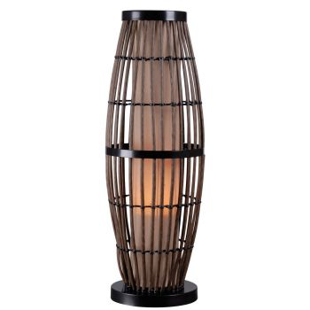 Kenroy Home Biscayne Outdoor Table Lamp with Bronze Accents