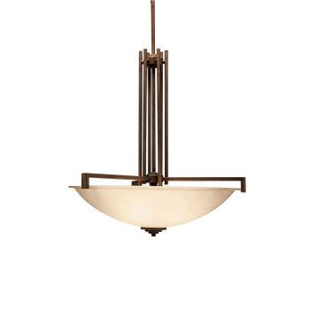 Kichler Eileen 4-Light Inverted Pendant in Olde Bronze