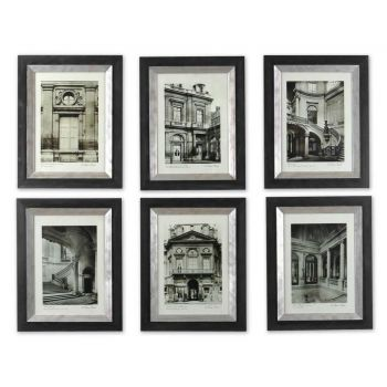 Uttermost Set of 6 Paris Scene Framed Art