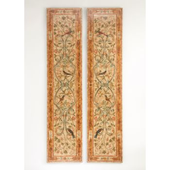 Chelsea House Pair of Uccellino Panels Wall Decor