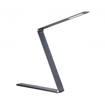 Savoy House Fusion Z LED Task Lamp with Dimmer in Blue Gray
