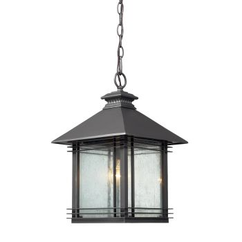 Elk Lighting Blackwell Outdoor Pendant in Graphite