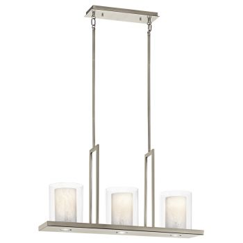 "Kichler Triad 3-Light 7.75"" in Classic Pewter"