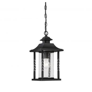 Savoy House Dorado Outdoor Hanging Lantern in Black