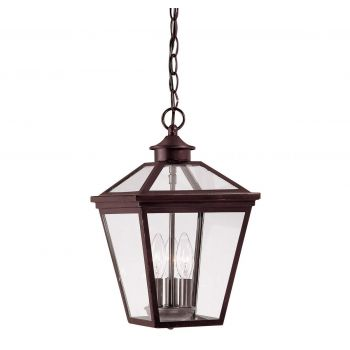 Savoy House Ellijay Outdoor Hanging Lantern in English Bronze