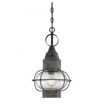 Savoy House Enfield Outdoor Hanging Lantern in Oxidized Black