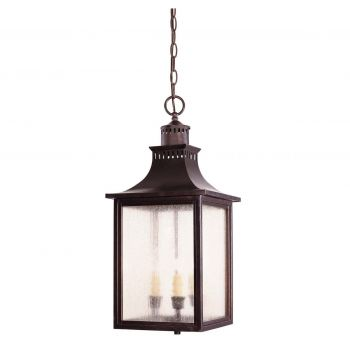 Savoy House Monte Grande Outdoor Hanging Lantern in English Bronze