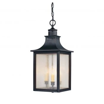 Savoy House Monte Grande Outdoor Hanging Lantern in Slate