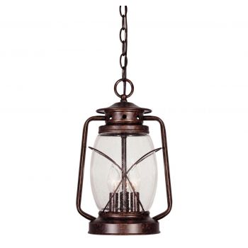 Savoy House Smith Mountain Outdoor Hanging Lantern in Tortoise Shell
