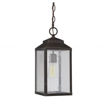Savoy House Brennan Outdoor Hanging Lantern in English Bronze w/Gold