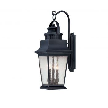 Savoy House Barrister Outdoor Wall Lantern in Slate