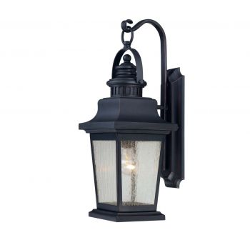 Savoy House Barrister Outdoor Wall Lantern in Slate Finish