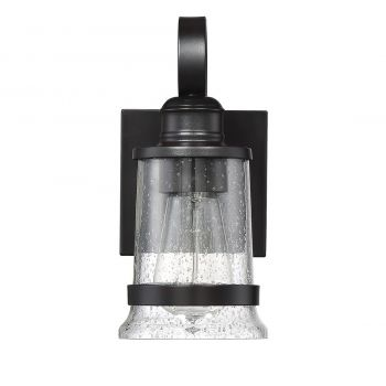 "Savoy House Winston 7.5"" Outdoor Wall Lantern in English Bronze"