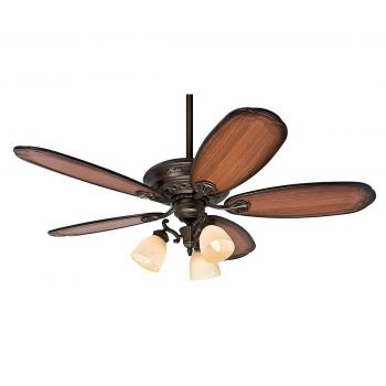 "Hunter Prestige Crown Park 54"" Ceiling Fan in Tuscan Gold"