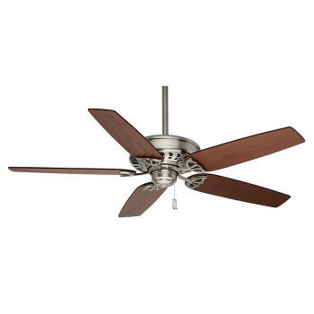 "Casablanca 54"" Concentra Ceiling Fan in Brushed Nickel"