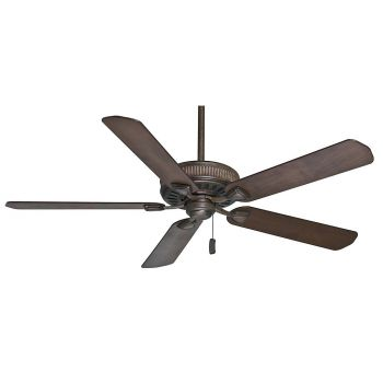 """Casablanca 60"""" Ainsworth Ceiling Fan in Provence Crackle"""