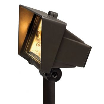 "Hinkley Signature 5.5"" Line Voltage Landscape Well Light in Bronze"