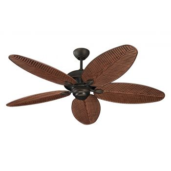 "Monte Carlo 52"" Cruise Outdoor Wet Rated Ceiling Fan in Roman Bronze"