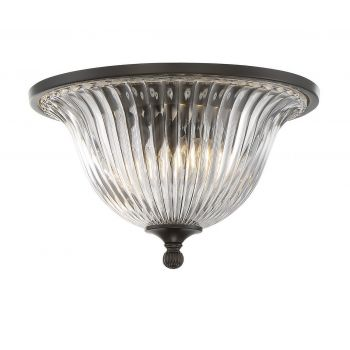 Savoy House Aberdeen Flush Mount in Classic Bronze