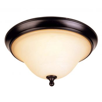 Savoy House Sutton Place 2-Light Flush Mount in English Bronze