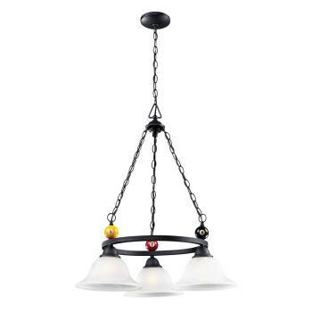 Landmark Billiards 3-Light Chandelier