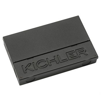 """Kichler 4.5"""" Dimmable 96W Power Supply in Textured Black"""