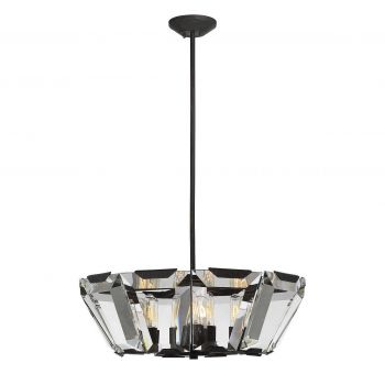Savoy House Sardis 10-Light Pendant in Oiled Bronze