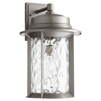 "Quorum Charter 19"" Outdoor Wall Sconce in Graphite"