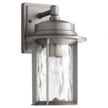 "Quorum Charter 14"" Outdoor Wall Sconce in Graphite"