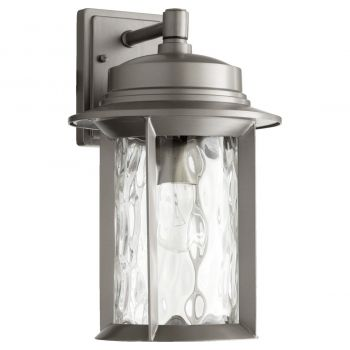 "Quorum Charter 15.5"" Outdoor Wall Sconce in Graphite"
