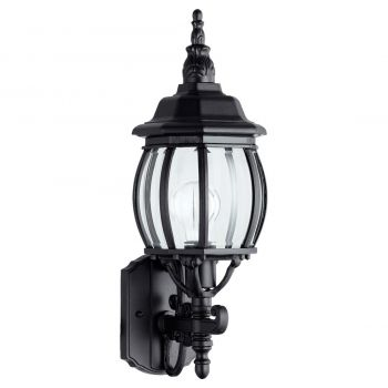 "Quorum Croix 19.5"" Wall Sconce in Black"