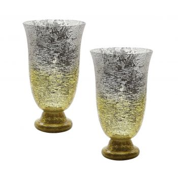 Dimond Home Vases, Jars & Vessels in Yellow Ombre
