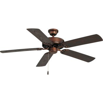 "Maxim Lighting Basic-Max 12.5"" Outdoor Ceiling Fan, Bronze"