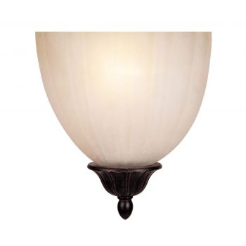 Savoy House Half Moon Wall Sconce in Distressed Bronze